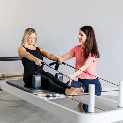 Pilates Workouts Build Elongated, Sculpted Muscles